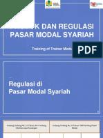 Modul TOT 2 - Produk Dan Regulasi Pasar Modal Syariah