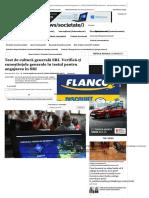 Test de Cultură Generală SRI. Verifică-... Pentru Angajarea În SRI _ Adevarul.ro