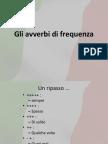 3 - gli avverbi di frequenza