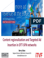 Content Regionalization and Targeted Ad Berry Eskes Int.l Datacasting
