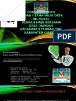Company Profile Bumdes Dawuan