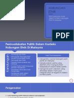 CTU553 - Permuafakatan Politik Dalam Konteks Hubungan Etnik Di Malaysia