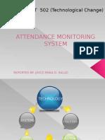 62805039 Attendance Monitoring System
