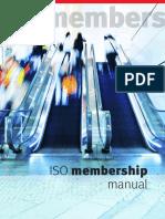 Iso Membership Manual