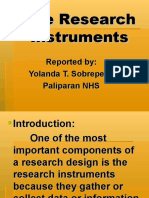 theresearchinstruments-110408073813-phpapp02.ppt