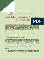 South Bellmore Veterinary Group New York – Zahnmedizin