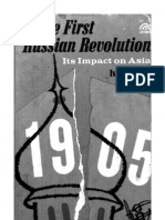 The First Russian Revolution and It's Impact on Asia