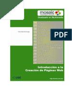 Introduccion a La Creacion de Paginas Web