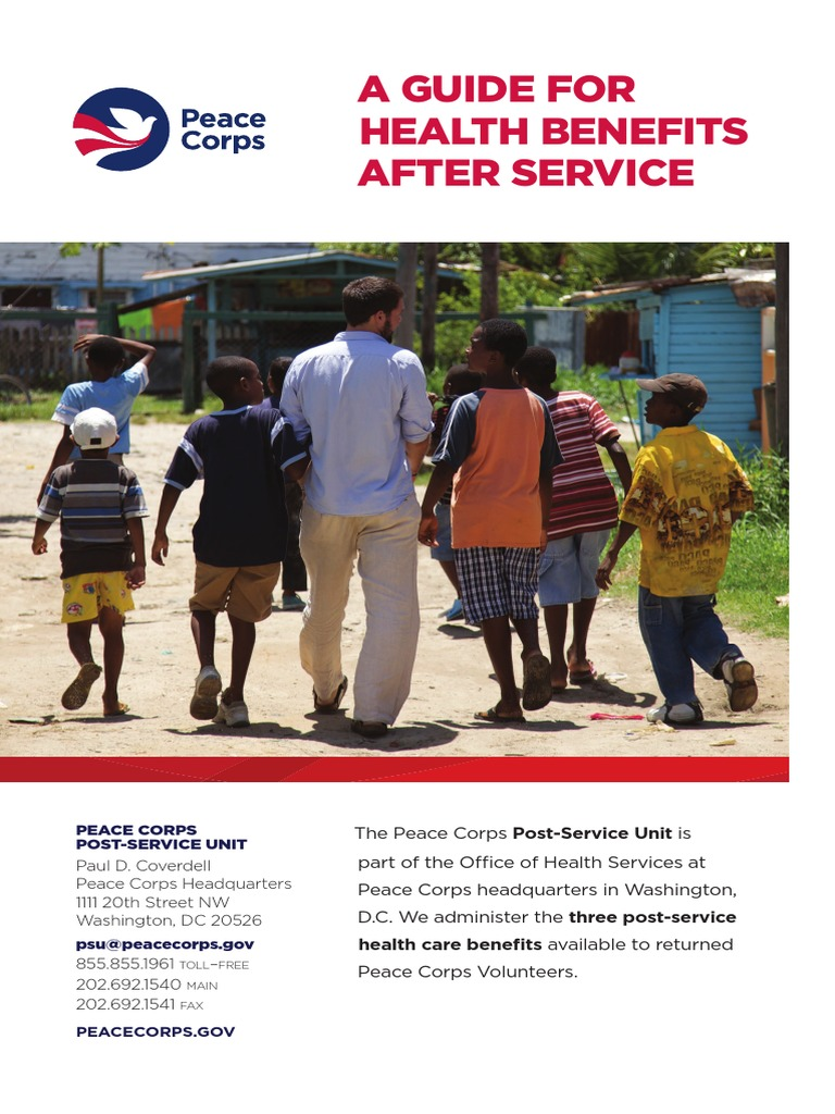 benefits for returned peace corps volunteers