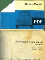 VW Beetle 1970 User Manual USA.pdf