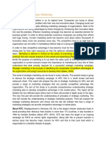 Introduction on Strategic Marketing
