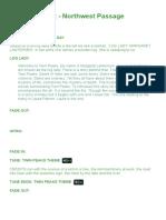 Twin Peaks - Script S1E00