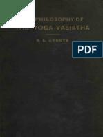 The Philosophy of the Yoga-Vasistha.pdf