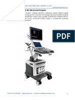Technical Parameters for HP-UC900 4D Color Doppler (2)