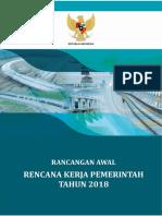 Rancangan Awal Rkp Tahun 2018