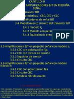 CAP III -Transistores BJT