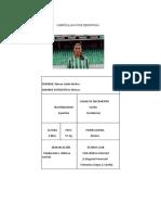 Currículum Vitae Deportivo