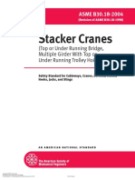 ASME B30.18-2004_Stacker Cranes (Top or Under Running Bridge, Multiple Girder With Top or Under Running Trolley Hoist)_Safety Standard for Cableways, Cranes, Derricks, Hoists, Hooks, Jacks, And Slings