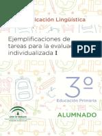 C_LINGUISTICA Andalucia 3º EP. Alumnado y Profesorado.