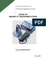 Cours+TD mesure et instrumentation