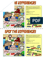 993 Spot the Differences Happy Birthday