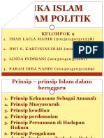 Point Point Etika Politik Dalam Islam