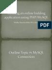 Pert 6 PHP Manipulating Database Using PHP