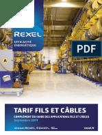 Rexel Complement Tarif Fils Et Cables