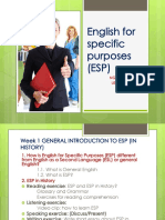 General Introduction to Esp (in History)