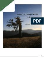 Ghidul-vizitatorului parcul national calimani