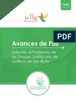 OBSERVACIÓN | Boletín Avances Implementación Punto 4 Cultivos Uso Ilícito