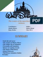 Walt Disney Presentation