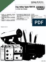 RK82-10E en RAYA Voltage Regulating Relay