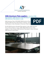 5086 Aluminum Plate Suppliers