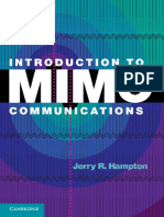 Hampton J.R.-introduction to MIMO Communications-CUP (2013)