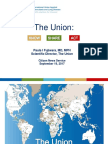Presentation of Dr Paula I Fujiwara of The Union in 2017 World Lung Day Webinar