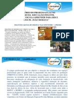 Relatório Projeto-Aulas Estágio Educação Infantil