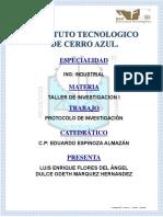 Protocolo de Seguridad Industrial