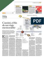 Cassini, El Fin de Un Viaje Memorable