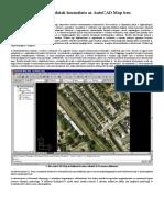 Raszteres Adatok Használata AutoCAD Mapben