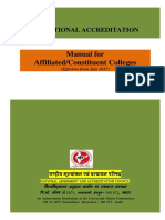 Affiliated College Manual 31 Jul 2017