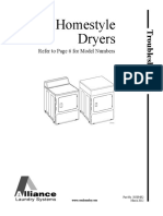 Service Manual Homestyle Dryers LEN27AG4018