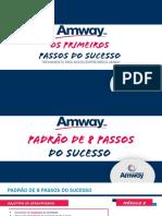 8 Passos Iniciais Amway