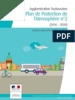 Le plan de protection de l'atmosphère (PPA) de l'agglomération toulousaine