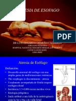 3. Atresia de Esofago
