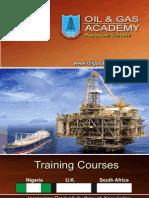 Oil & Gas Academy Petroleum Schools Brochure