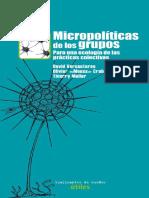 Micropolíticas de Los Grupos-TdS