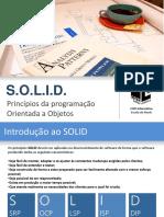 Introdução Aos Principios SOLID (Teoria)