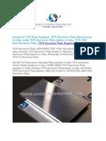 7075 Aluminum Plate Suppliers