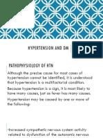 Hypertension and DM